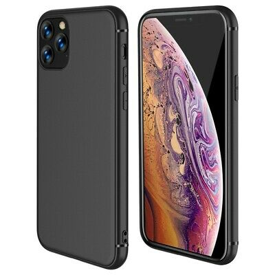 Case For IPhone SE 2 11 XR XS MAX X 8 7 6 Plus Shockproof Silicone Black Cover • 1.95£