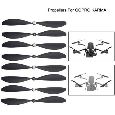 AU38.42 • Buy 8pcs Drone Propellers Blades Wings Accessories Parts For GoPro Karma Black New Z
