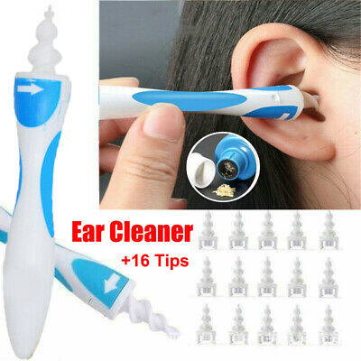 $ CDN4.52 • Buy 2/17pcs Ear Wax Removal Tool Ear Cleaner Q-Grips Ear Wax Remover With 1/16Tips