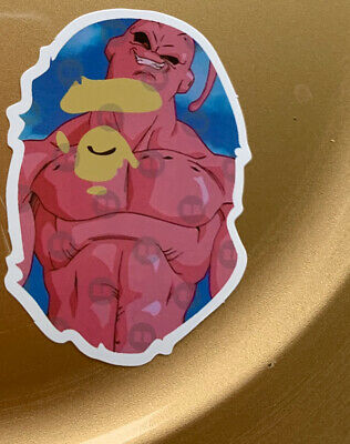"$ CDN12.53 • Buy Bape Gorilla 3"" Vinyl STICKER Lot Skateboard DragonballZ Supreme Pink Muscle Man"