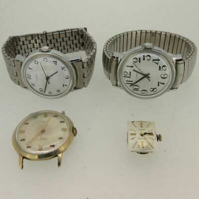 $ CDN38.88 • Buy Lot Of 4 Vintage Timex Mechanical And Quartz Watches Parts