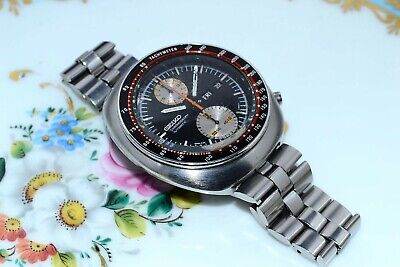 $ CDN882.07 • Buy Rare Vintage Seiko 6138-0011 Ufo Day Date Chronograph Automatic S.Steel Watch