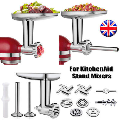 £21.79 • Buy Food Meat Grinder Attachment For Kitchenaid Stand Mixer Kitchen Aid Accessories