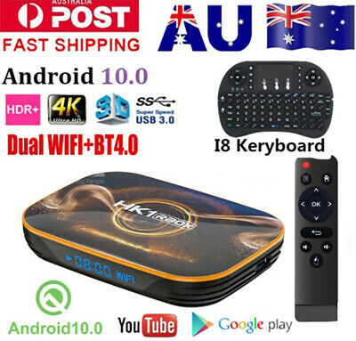 AU69.89 • Buy HK1 R1  Android 10.0 Dual WIFI BT TV BOX QuadCore 64Bit CPU 5G Media Player