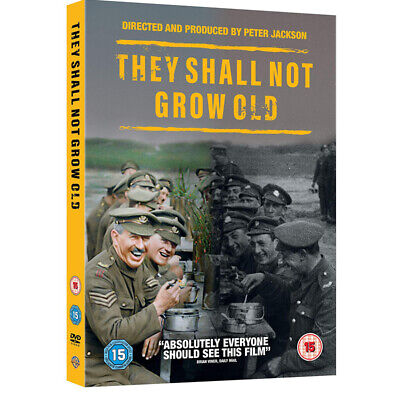 $12.99 • Buy They Shall Not Grow Old (DVD, 2018) Free Shipping!