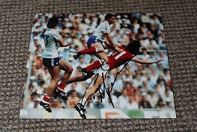 PAUL MARINER (England & Plymouth Portsmouth Arsenal FC) Hand SIGNED 9.5x8 Photo • 8£