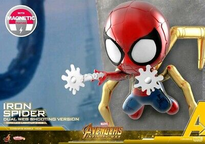 AU40 • Buy Dual Web Shooter Iron Spider Hot Toys Cosbaby Infinity War