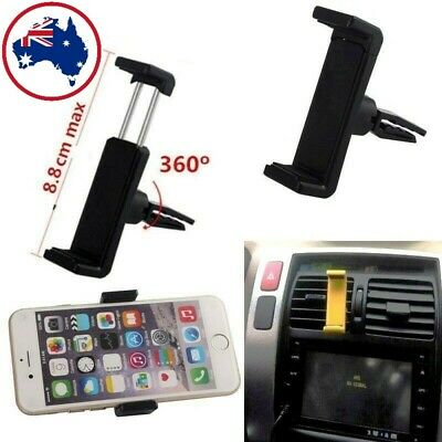AU4.98 • Buy New 360°Rotating Car Air Vent Mount Cradle Holder Universal For Mobile Phone GPS
