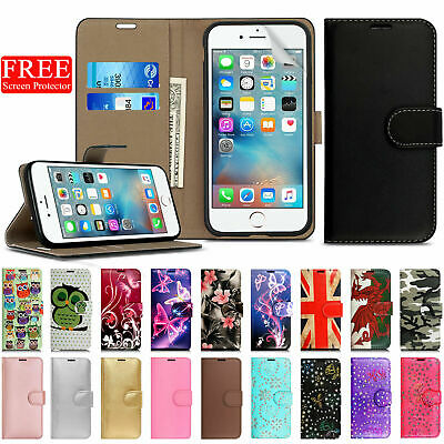 Case For Apple IPhone SE (2020) 2nd Generation Flip Wallet Leather Phone Cover • 2.99£