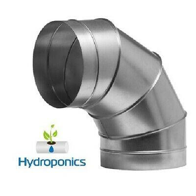 250mm 10  90 Degree Bend Ducting Grow Room Ventilation Hydroponic Cheap UK Fast • 25£