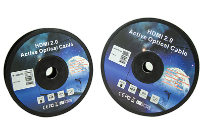 AU365 • Buy  HDMI High Speed Active Optical Fibre Cable 4K/2K 50m/100m-W14220050/W14220100