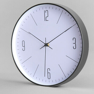 AU28.99 • Buy Modern Wall Clock Silent Non Ticking Battery Operated Home Office Decor Clocks