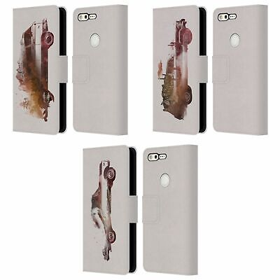 AU24.95 • Buy Official Robert Farkas Cars Leather Book Wallet Case Cover For Google Phones