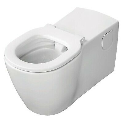 Ideal Standard Concept Freedom Elongated Rimless Wall Hung Toilet With Ring - Wh • 567.95£
