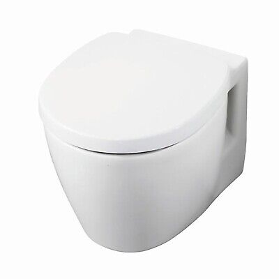 Ideal Standard Concept Space Compact Wall Hung Toilet WC - Soft Close Seat And C • 416.95£