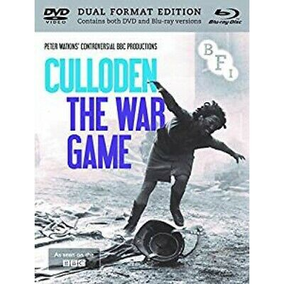 £11.99 • Buy Culloden   The War Game (Dual Format Edition) DVD