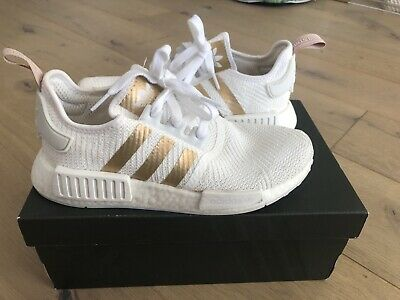 AU70 • Buy ADIDAS NMD R1 WHITE/GOLD SIZE US7 In Amazing Condition With Original Box