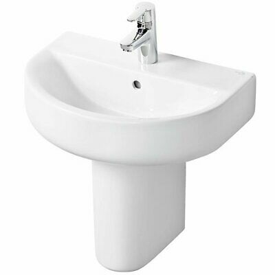 Ideal Standard Concept Space Arc Short Projection Basin And Semi Pedestal 550mm  • 177.95£