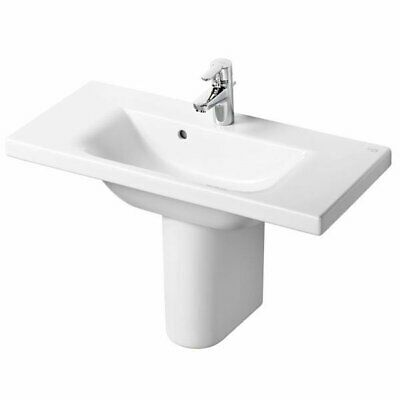 Ideal Standard Concept Space Basin And Semi Pedestal 800mm X 380mm 1 Tap Hole • 311.95£
