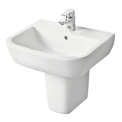 Ideal Standard Tempo Basin And Semi Pedestal 600mm Wide 1 Tap Hole • 118.95£