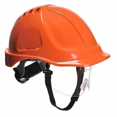 Portwest - Site Safety Workwear Endurance Plus Visor Helmet Hard Hat • 11.90£