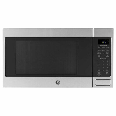 $119.99 • Buy GE 700 Watt Countertop Microwave Oven, Stainless Steel (Certified Refurbished)