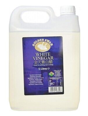 £9.95 • Buy 1 X Golden Swan White Vinegar For Cleaning Pickling Marinating Cooking 5 Litres