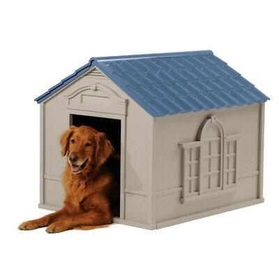 $104.48 • Buy XXL Dog Kennel X-Large Dogs Cage Outdoor Pet Cabin Insulated House Crate Shelter