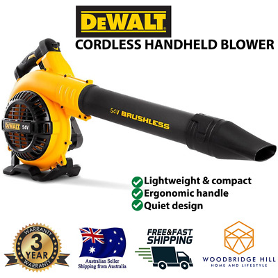 AU201 • Buy 54V Cordless Leaf Blower Li-ion Battery Variable Control Garden Commercial Tool