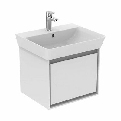 Ideal Standard Concept Air Wall Hung Vanity Unit With Basin 550mm Wide - Gloss W • 398.95£