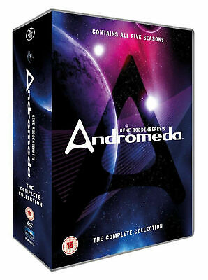 Andromeda (Gene Rodenberry) | Complete Series Seasons 1-5 | UK VGC FAST • 49.99£