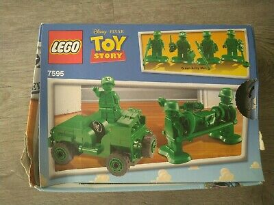 LEGO Toy Story Army Men On Patrol (7595) 100% Complete With Instructions, Used • 25£