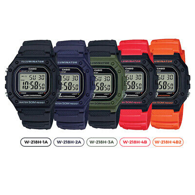 AU38.90 • Buy GENUINE Casio W-218H Classic Digital Sports Watch Mens Unisex Youth NEW