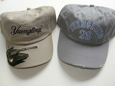 $24.99 • Buy Pair Of Yuengling Lager Beer Tank And 29  Baseball Hats BRAND NEW Military 1829