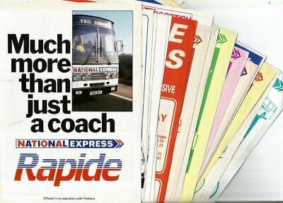 National Express Coach Timetable, Etc. Leaflets (19) - May 1983 • 2.99£