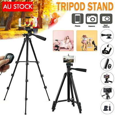 AU25.05 • Buy Adjustable Camera Tripod Mount Stand Holder For IPhone 11 Pro XS MAX Samsung S10