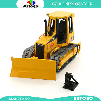 AU73.49 • Buy CATERPILLAR Track-Type Tractor With Ripper Yellow Scale 1:16 Tractor Toy Model