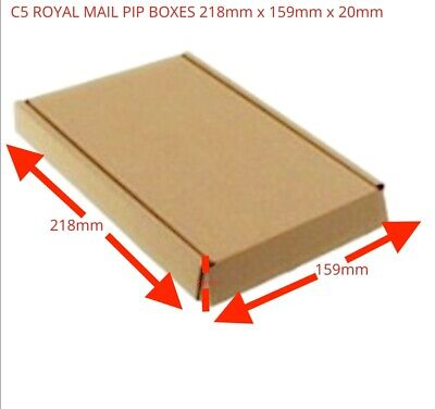 Small & Cheap Packing Boxes - C4/A4, C5A5, C6/A6, DL - Fast & Free Delivery • 9.59£