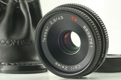 $209.99 • Buy 【NEAR MINT】Contax Carl Zeiss Tessar T* 45mm F/2.8 MMJ MF Lens For C/Y From JAPAN