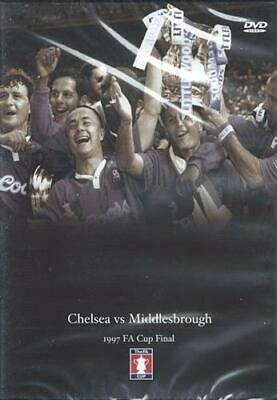 1997 FA Cup Final - Chelsea V Middlesborough - Sealed NEW DVD • 12.99£