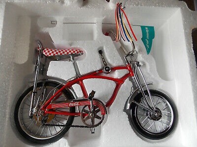 $149 • Buy Large 1/6 Scale Coca Cola High Flyer Sting Ray Bike Limited Edition By Xonex
