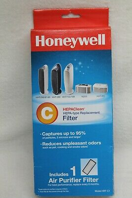 NEW (1) Honeywell Air Purifier HEPA Filter C Replacement HRF-C1 Vicks Holmes • 13.42£