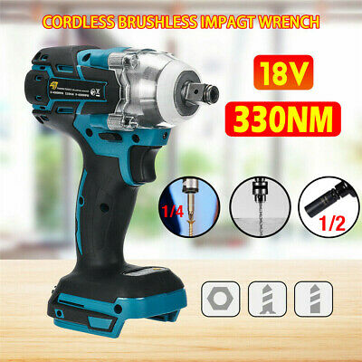 Replace For MAKITA DTW285Z 18V Cordless Brushless Impact Wrench 1/2  Driver Only • 28.09£