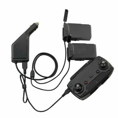 AU25.20 • Buy For DJI MAVIC Air Drone 3 In 1 Car Charger Battery Remote Control Charger Dock