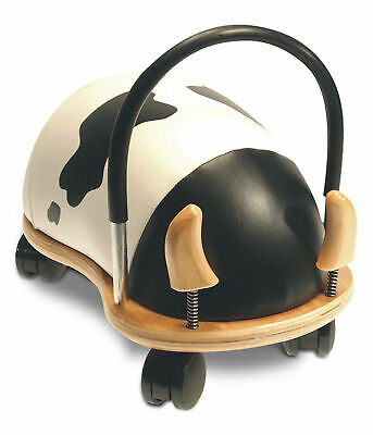 Wheelybug - Toddlers Ride-On Push Along Toy - Cow - Multi-Directional • 65.95£