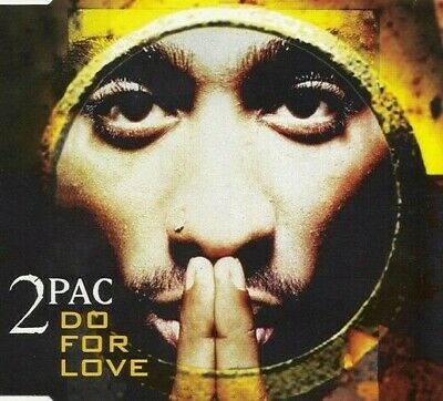 2PAC / Do For Love - Original 4 Track CD Single 1991 • 1.49£