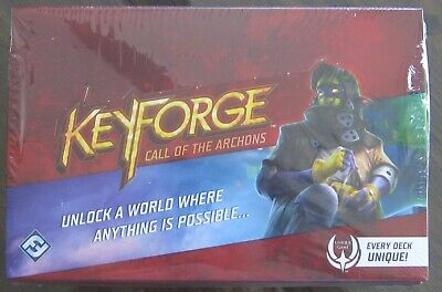 $ CDN55.99 • Buy KEYFORGE CALL Of The ARCHONS Deck Display Box 12ct New Sealed Ready To Ship !!