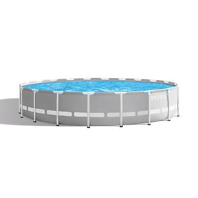 View Details Intex 20ft X 52in Prism Frame Above Ground Swimming Pool Set With Filter Pump • 1299.99$