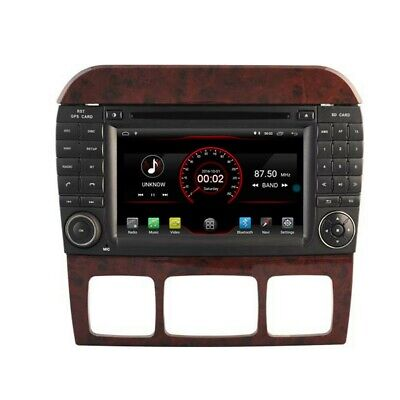 $350 • Buy 7  Android 10 Car DVD GPS Radio Wifi For Mercedes Benz S Class W220 New Unused