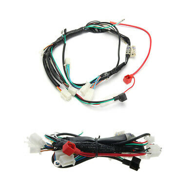 $13.58 • Buy Electric Start Wiring Harness Connector For Motorcycle Rectifier Starter Motor